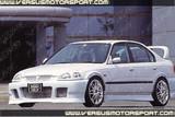 CS617GR - Charge Speed 1996-1998 Honda Civic ALL Coupe/ HB/ Sedan EK Front Grill