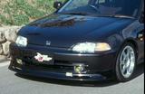 CS214FL - Charge Speed 1992-1995 Honda Civic EG 4 Doors Sedan Front Lip