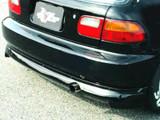 CS215RSH - Charge Speed 1992-1995 Honda Civic EG HB Rear Under Spoiler