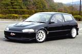 CS215FLK2 - Charge Speed 1992-1995 Honda Civic EG HB Type-2 Complete Lip Kit