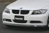 CS2100FLF - CHARGE SPEED 2005-2008 BMW E90 3-SERIES SEDAN BOTTOM LINE FRP FRONT LIP