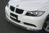 CS2100FLC - CHARGE SPEED 2005-2008 BMW E90 3-SERIES SEDAN BOTTOM LINE CARBON FRONT LIP