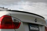 CS2100RWF - CHARGE SPEED 2005-2008 BMW E90 3-SERIES SEDAN BOTTOM LINE FRP REAR SPOILER