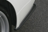CS2100RCC - CHARGE SPEED 2005-2008 BMW E90 3-SERIES SEDAN BOTTOM LINE CARBON REAR CAPS