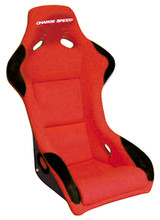 SF02 - Charge Speed Bucket Racing Seat Sport Type FRP Red