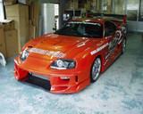CS890HFV - Charge Speed 1993-1998 Toyota Supra FRP Vented Hood