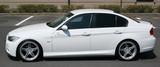 CS2101SSC - CHARGE SPEED 2005-2008 BMW E90 3-SERIES M-SPORT SEDAN BOTTOM LINE CARBON SIDE SKIRTS