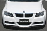 CS2101FLF - CHARGE SPEED 2005-2008 BMW E90 3-SERIES M-SPORT SEDAN BOTTOM LINE FRP FRONT LIP