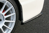 CS3088RCC - Charge Speed 2006-2010 Honda Civic FD2 Sedan JDM Front End/ 2006-2010 Acura CSX Bottom Line Carbon Rear Caps