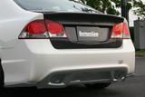 CS3088RDC - Charge Speed 2006-2010 Honda Civic FD2 Sedan JDM Front End/ 2006-2010 Acura CSX Carbon Rear Diffuser
