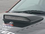 CS975HDC - Charge Speed 2006-2007 Subaru WRX GD-F Carbon Hood Duct STi Style