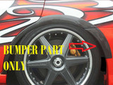 CS975OFA - Charge Speed 2005-2007 Subaru WRX FRP Rear Over Fender Bumper Side Adaptor