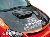 CS975HCV - Charge Speed 2006-2007 Subaru Impreza WRX GD-F HawkEye Vented Carbon Hood