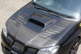 CS975HCV2 - Charge Speed 2006-2007 Subaru Impreza WRX GD-F HawkEye Type-2 Vented Carbon Hood Japanese CFRP