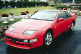 CS720FL - Charge Speed 1990-1996 Nissan 300ZX Turbo Model Only Front Lip