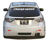 CS979RB1N - Charge Speed 2008-2011 Subaru Impreza GH 5-Doors Hatchback Type-1 Rear Bumper