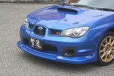 CS975FLS - Charge Speed 2006-2007 Subaru WRX GD-F HawkEye FRP S-Type Front Spoiler
