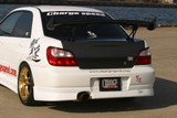 CS978RS - Charge Speed 2002-2003 Subaru Impreza GD-A 4Dr. Zenki/ Round Eye Model Rear Skirt