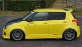 CS150SS - Charge Speed 2004-2009 Suzuki Swift ZC31S Side Skirts FRP