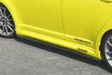 CS150SSC - Charge Speed 2004-2009 Suzuki Swift Sport ZC31S 5-Doors Hatchback Bottom Lines Carbon Side Skirts