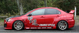 CS427SS1 - Charge Speed 2008-2017 Mitsubishi Lancer Evo X Type-1 Side Skirts
