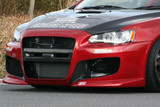 CS427FB1 - Charge Speed 2008-2017 Mitsubishi Lancer Evo X Type-1 Front Bumper