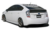 CS820RCC - Charge Speed 2010-2015 Toyota Prius XW30 Bottom Line Rear Caps Carbon