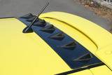 CS150RFC - Charge Speed 2004-2009 Suzuki Swift Sport ZC31S Roof Fin Carbon