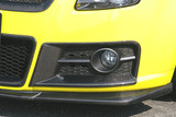 CS150FBSDC - Charge Speed 2004-2009 Suzuki Swift Sport ZC31S Front Bumper Side Ducts Carbon