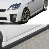 CS820SSC - Charge Speed 2010-2015 Toyota Prius XW30 Bottom Line Side Skirts Carbon