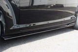 CS716SSC - Charge Speed 2003-2012 Mazda RX8 Bottom Lines Side Skirts Carbon