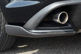 CS716RCC - Charge Speed 2003-2008 Mazda RX8 Zenki Bottom Lines Carbon Rear Caps