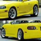 CS736SS - Charge Speed 1999-2005 Mazda Miata NB Side Skirts