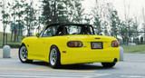 CS736RS - Charge Speed 1999-2005 Mazda Miata NB JDM Spec Rear Under Spoiler