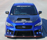 CS9735FB1AF - Charge Speed 2015-2020 Subaru WRX/ STi VA S4 Type-1A Front Bumper with FRP FRONT LIP