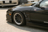 CS702FF - Charge Speed 1989-1994 Nissan 240SX RPS-13 Flip Light 20mm Widebody Front Fenders