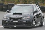 CS979FLK1C - Charge Speed 2008-2010 Subaru WRX STi GR-B Hatchback BottomLine Type 1 Carbon Full Lip Kit for STi