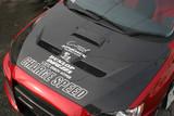 CS427HCV - Charge Speed 2008-2017 Mitsubishi Lancer/ Lancer EX/ Ralliart/ Sportback/ EvoX Type-1 Vented Carbon Hood