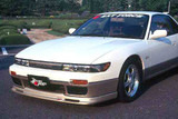 CS703FL2 - Charge Speed 1989-1994 Nissan 240SX Silvia JDM Front End-Non Flip Light Type 2 Front Lip Fit AERO JDM Silvia Bumper ONLY