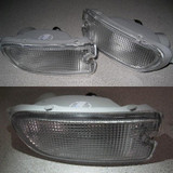 CS976BL - Charge Speed 1995-2001 Subaru Impreza GC-8 Clear Front Bumper Lights