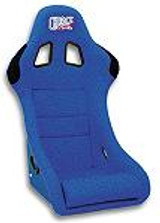 SK03O1 - Charge Speed Bucket Racing Seat Original Design Logo Shark Type Kevlar Blue SINGLE