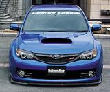 CS979FL2F - Charge Speed 2008-2010 Subaru WRX STi GR-B Hatchback BottomLine Type 2 Front Lip for STi