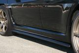 CS979SS1F - Charge Speed 2008-2014 Subaru WRX STi GR Hatchback/ GV Sedan Bottom Lines Type 1 FRP Side Skirts