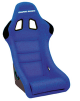 HF03 - Charge Speed Bucket Racing Seat Shark Type FRP Blue
