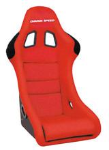 HF02 - Charge Speed Bucket Racing Seat Shark Type FRP Red