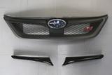 CS973GFC - Charge Speed 2011-2014 Subaru WRX STi & Non-STi GR Hatchback/ GV Sedan Carbon Front Grill Finisher