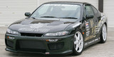 CS707FKW2 - Charge Speed 1999-2005 Nissan 240SX S-15 Type-2 Wide Body Full Kit