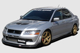 CS423FLKC - Charge Speed 2002 Mitsubishi Lancer Evo VII Bottom Line Carbon Full Lip Kit