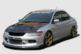 CS425FLKF - Charge Speed 2006-2007 Mitsubishi Lancer Evo IX Bottom Line FRP Full Lip Kit