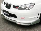 CS975FLK2C - Charge Speed 2006-2007 Subaru WRX GD-F Bottom Lines Carbon Full Lip Kit Type-2 for STi